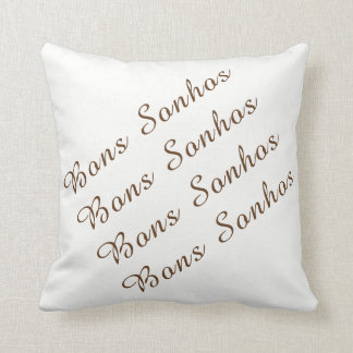 40,6 cm almofada 40,6 cm x - Good dreams Throw Pillow