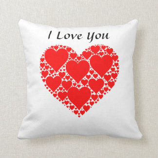40,6 cm - Designer I Love You almofada 40,6 cm x Cushion