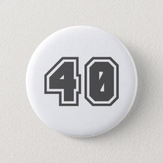 40 6 CM ROUND BADGE