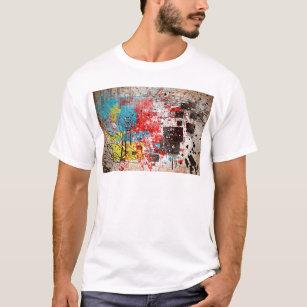 40 abstract splatter paint 1 color zoz.jpg T-Shirt