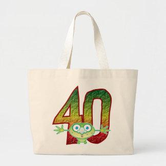 40 Age Ghoul Large Tote Bag