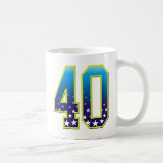40 Age Star Coffee Mug