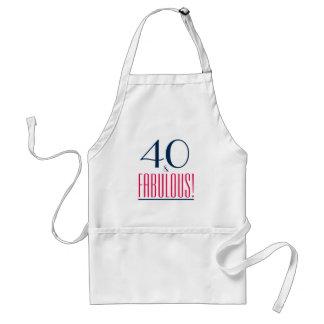 40 and Fabulous! Birthday Gift Apron