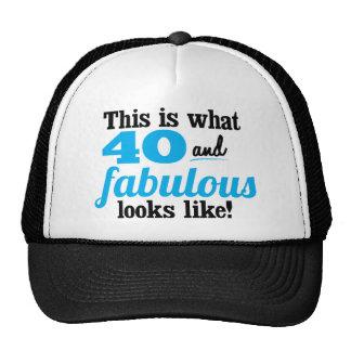 40 and Fabulous Cap