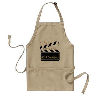 40 AND FABULOUS MOVIE QUEEN ADULT APRON