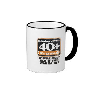 40+  Crowd  Mug