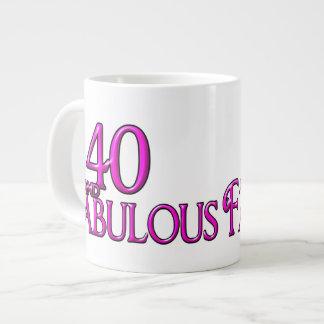 40 & FABULOUS JUMBO MUG