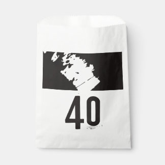40 for a 40th Birthday Party Favour Bags