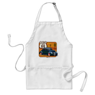 40-ford-rte66 adult apron