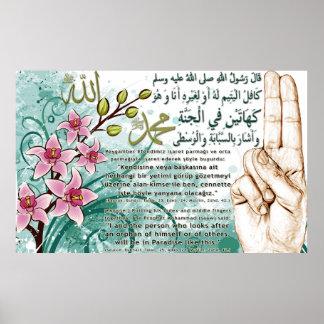 40 Hadith Artworks-7 / (TR:) 40 Hadis Eserleri-7 Poster