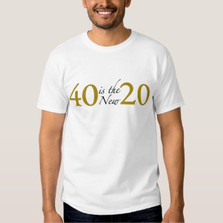 40 is the new 20 (Cougar) T Shirts