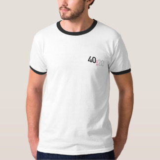 40 is the new 20 For Men T-Shirt