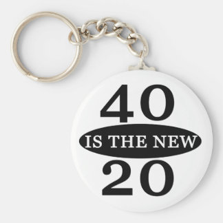 40 Is The New 20 Key Ring