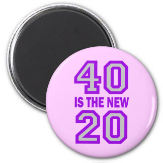 40 is the new 20 magnets