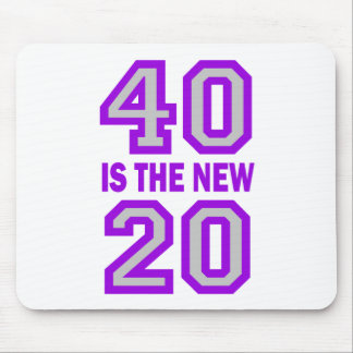 40 is the new 20 mousepads
