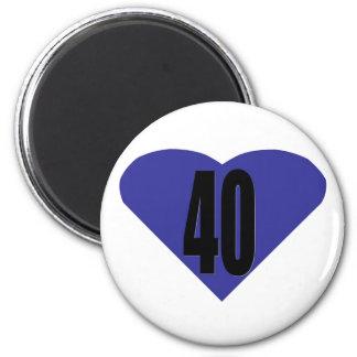 40 FRIDGE MAGNET
