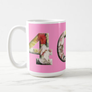 40 Milestone Drinkware 40th Customizable Mugs