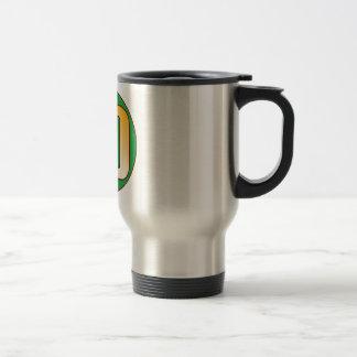 40 NIGERIA Gold Travel Mug