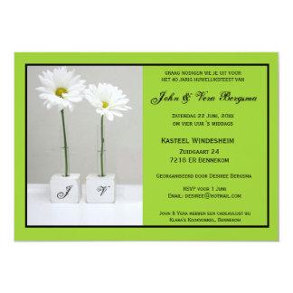 40 one year old huwelijksfeest card