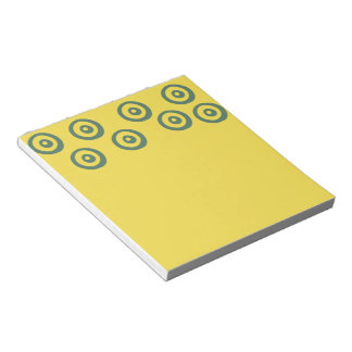 """40 pages Book Yellow Notepad 5.5"""" x 6"""""""