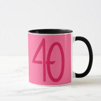 40 Pink Mug