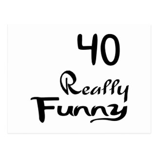 40 Really Funny Birthday Designs Postcard
