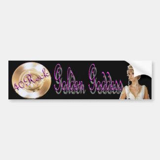 40 Rock Goddess Bumper Sticker