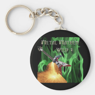 40 Rock Metal Mayhem Show Key Chain