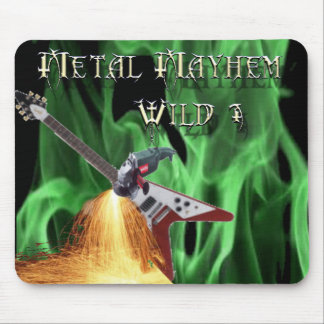 40 Rock Metal Mayhem Show Mouse Pad