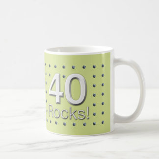 40 Rocks! Coffee Mug