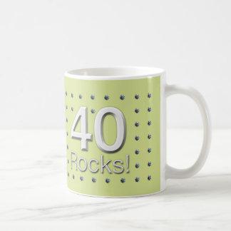 40 Rocks! Mug