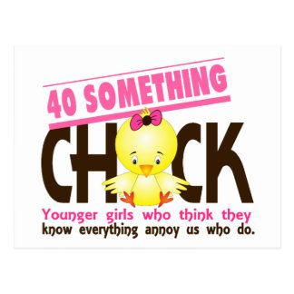 40-Something Chick 3 Post Card