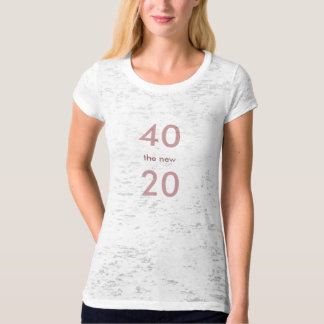 40 the new 20/Cougar Tshirt