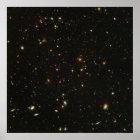 "40""x40"" (max) HUDF Hubble Ultra Deep Field Poster"