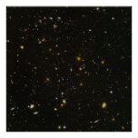 "40""x40"" (max) HUDF Hubble Ultra Deep Field Poster"