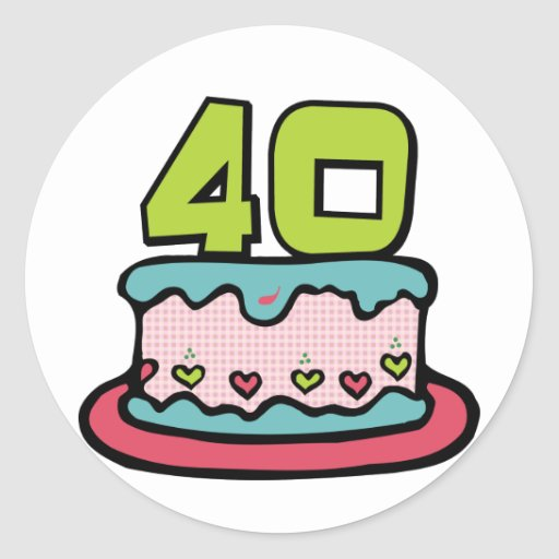 Images Of 40 Years Birthday Cake : 512px