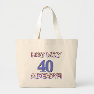 40 year old designs canvas bag