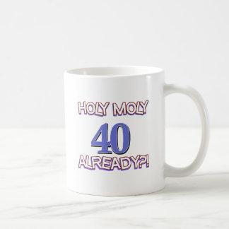 40 year old designs mugs