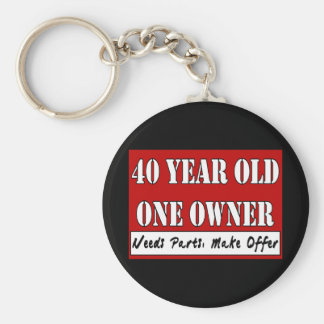40 Year Old, One Owner - Needs Parts, Make Offer Key Chain
