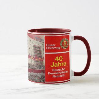 40 years DDR East Germany Mug