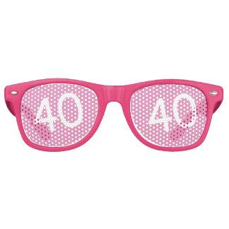 40 yr Bday Pink - 40th Birthday