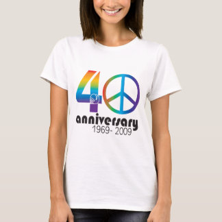 40th Anniversary 1969-2009 T-Shirt