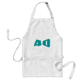 40th Anniversary Invitation Standard Apron