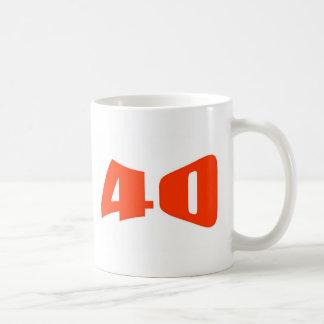 40th Anniversary Invitation Coffee Mug