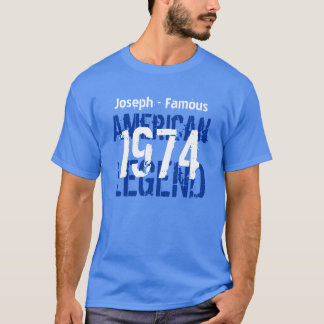 40th Birthday 1973 Famous American Legend V06 T-Shirt