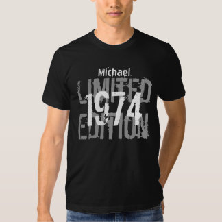40th Birthday 1974 Limited Edition Custom V01 Tshirt