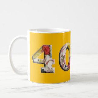 40th Birthday Anniversary 40 years Milestone Mug