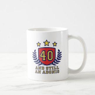 40th Birthday Coffee Mugs