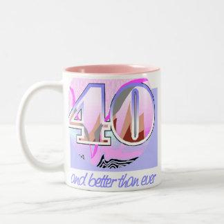 40th Birthday Gift Coffee Mug