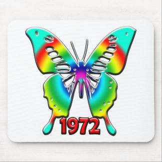 40th Birthday Gifts, 1972 Mousemats